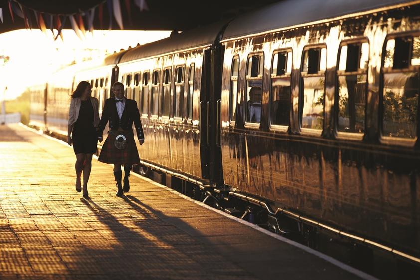 Luxury Train, Wales