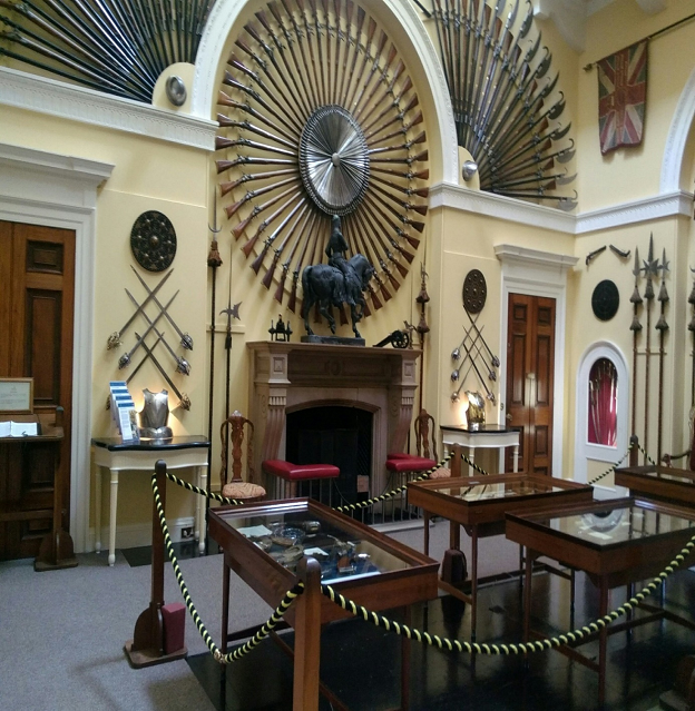 Armory Hall, Inverary Castle, Scotland