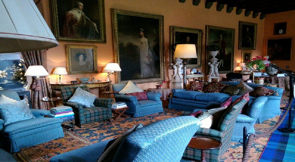 Cawdor Castle Interior, Scotland