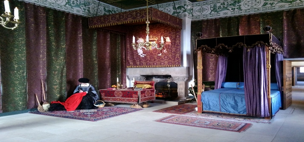 Queen's Bedchamber, Stirling Castle, Scotland
