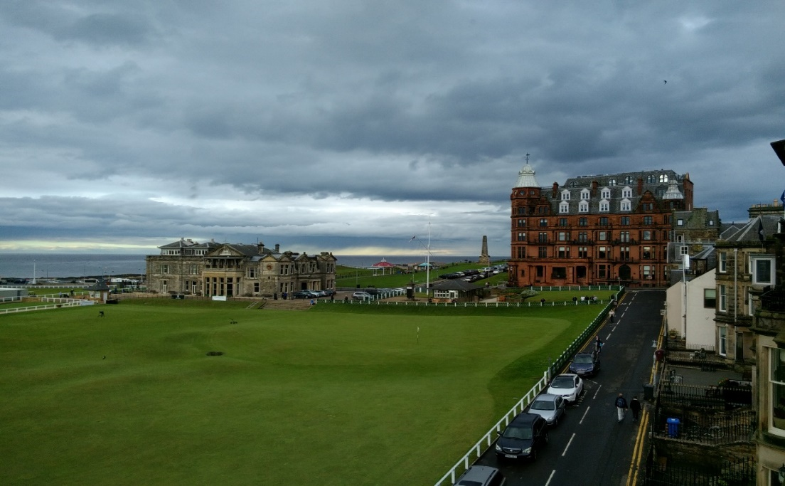 Rusacks Hotel, St. Andrews, Scotland