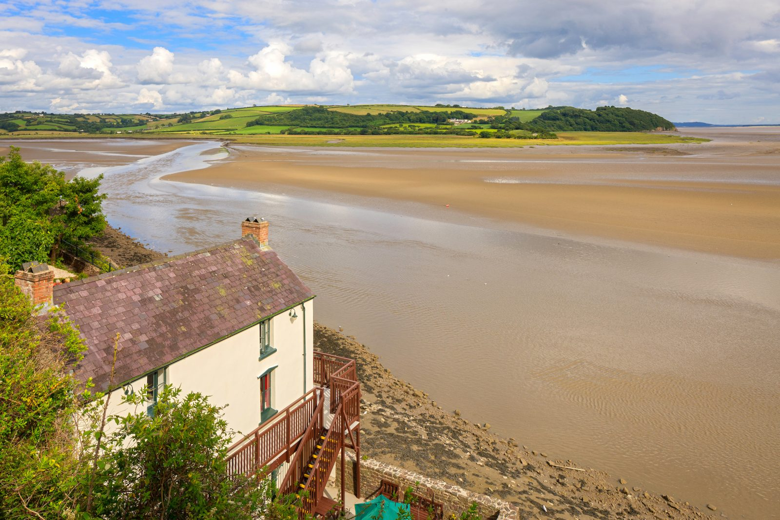 Wales Self Drive Vacations - Laugharne, Dylan Thomas' Boathouse