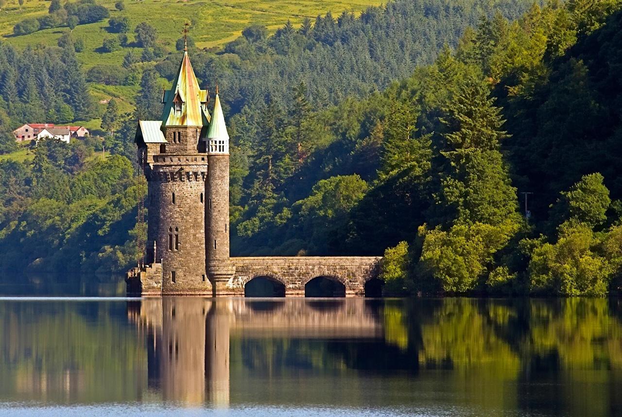 Wales Honeymoons-Vyrnwy tower
